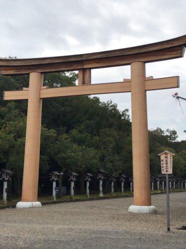 平成元年12月末に行った橿原神宮を思い出すブログ