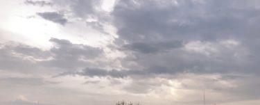 ゲリラ豪雨が続く毎日です。