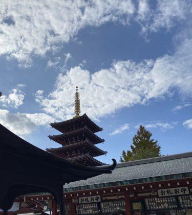 強力なパワースポット・浅草寺の龍神の気(動画あり)