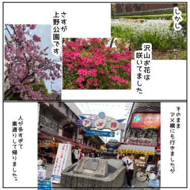 今日の散歩コースは「日暮里(谷中ぎんざ)〜上野公園」