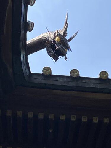 品川の龍神様が守る「荏原神社」